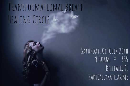 Breathing Circle Graphic