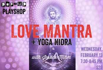 Photo of Love Mantra Pop Up.