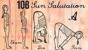 Sun Salutations Graphic