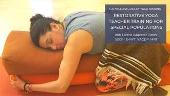 Restorative Yoga Class Photo.