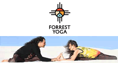 Forrest Yoga photo of Ana Forrest and Jose Calarco.